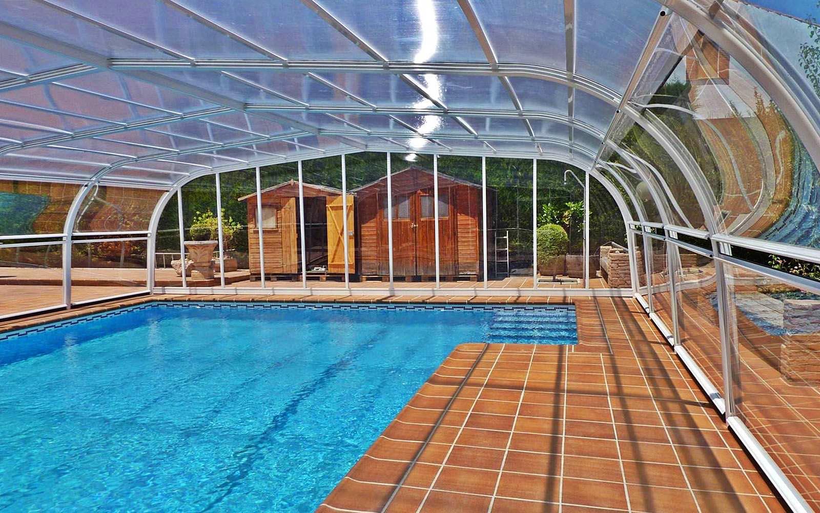Cubierta de piscina fija verona refcovers - Cubierta de piscina ...